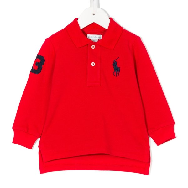 Ralph Lauren - POLO ROSSA RL INFANT