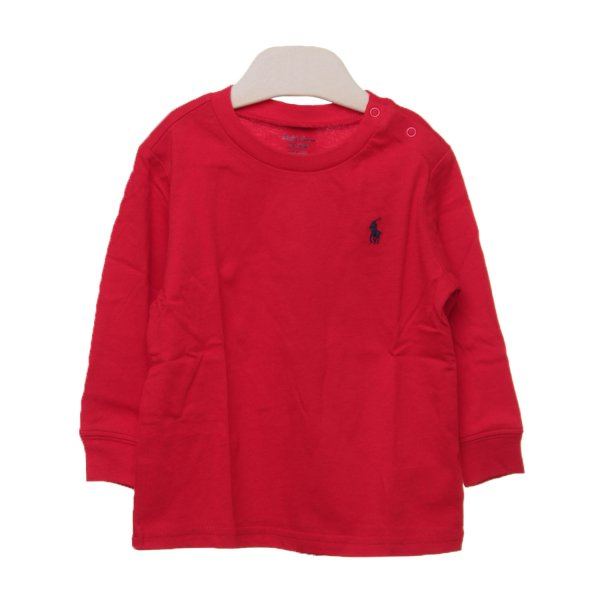 Ralph Lauren - T-SHIRT ROSSA RL INFANT