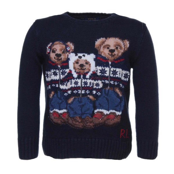 Ralph Lauren - PULLOVER BEARS RL TODDLER