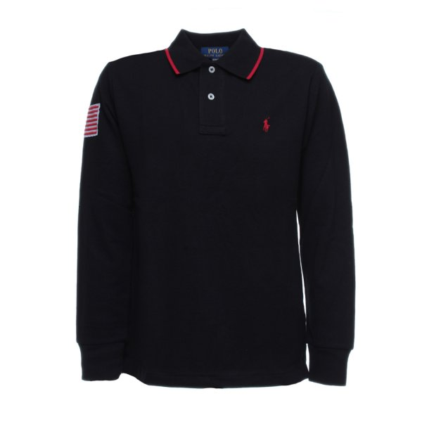 Ralph Lauren - POLO FLAG BLU RL BOY