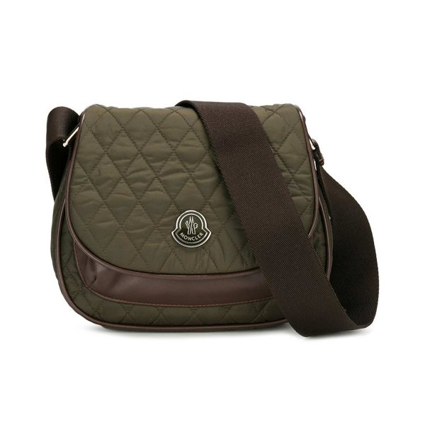Moncler - BORSA GIRL IN NYLON VERDE