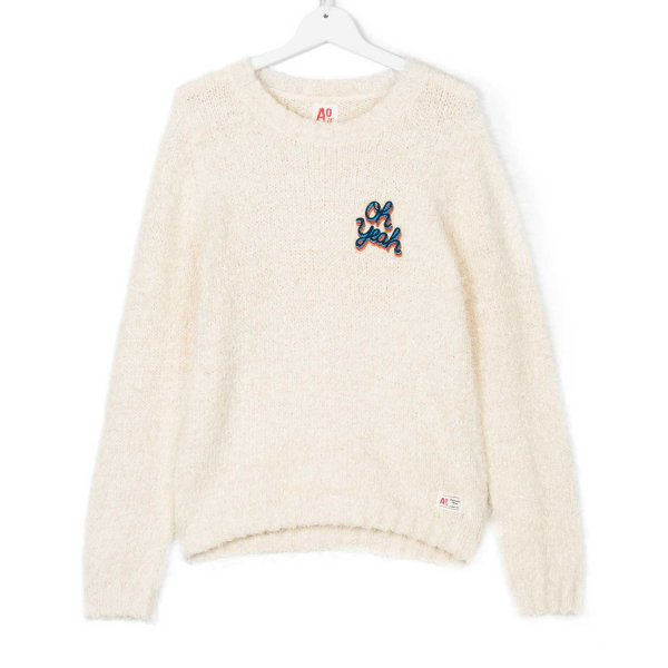 American Outfitters - PULLOVER GIRL PANNA