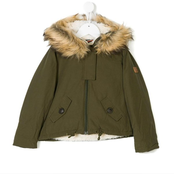 American Outfitters - PARKA VERDE GIRL