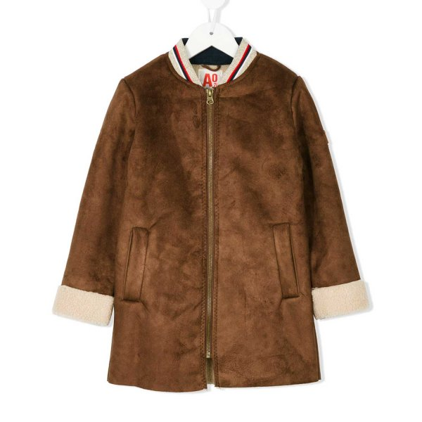 American Outfitters - CAPPOTTO MARRONE GIRL