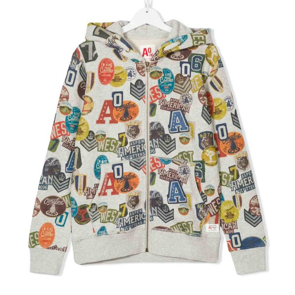 American Outfitters - FELPA CON PATCH