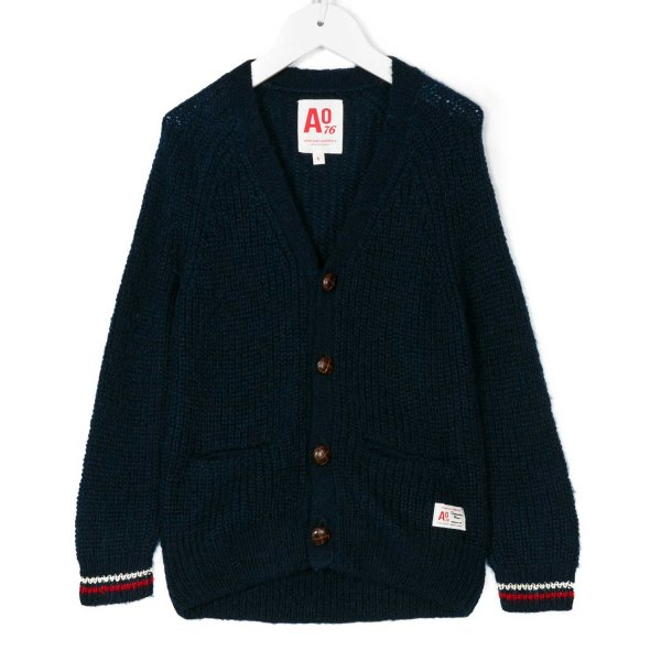 American Outfitters - CARDIGAN BOY BLU