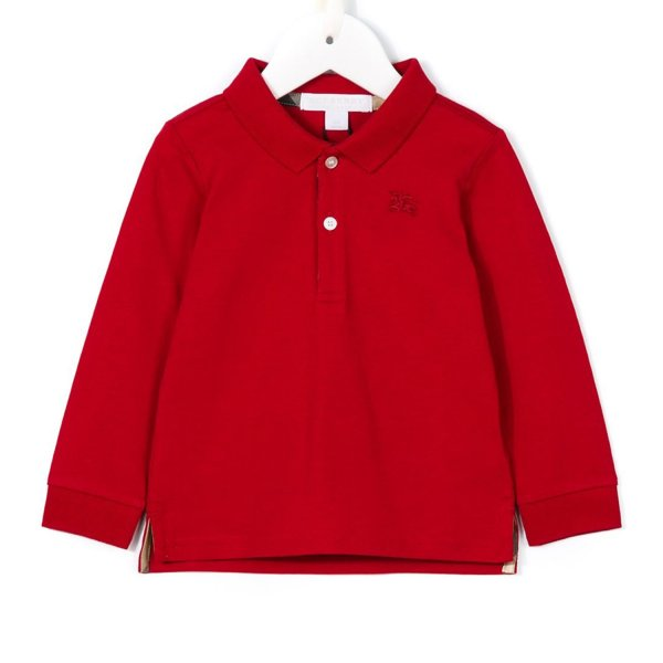 Burberry - POLO ROSSA BIMBO