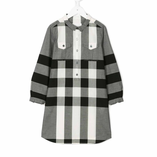 Burberry - Abito Chemisier motivo check