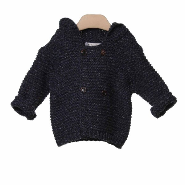 One More In The Family - CARDIGAN PATXI BLU