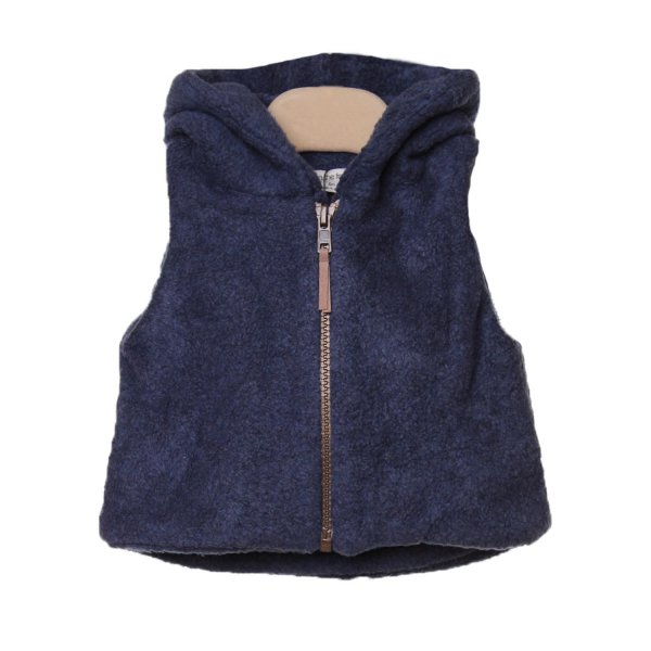 One More In The Family - GILET IZAN BLU