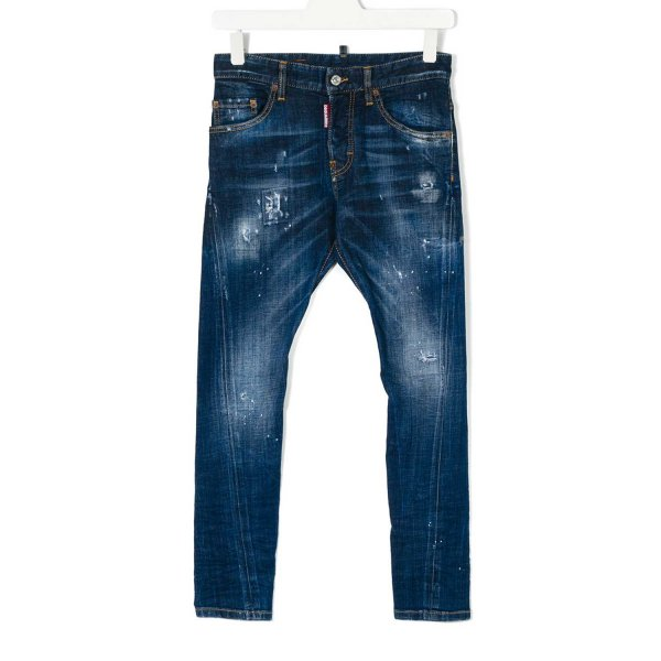 Dsquared2 - BLUE JEANS BAMBINO TEEN