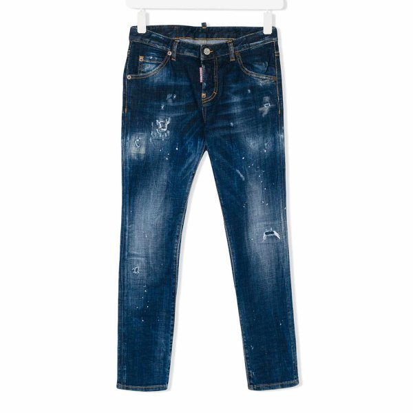 Dsquared2 - JEANS SCURO SLIM FIT BOY