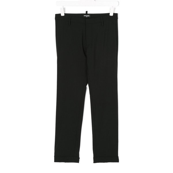 Dsquared2 - PANTALONE LANA NERO JUNIOR