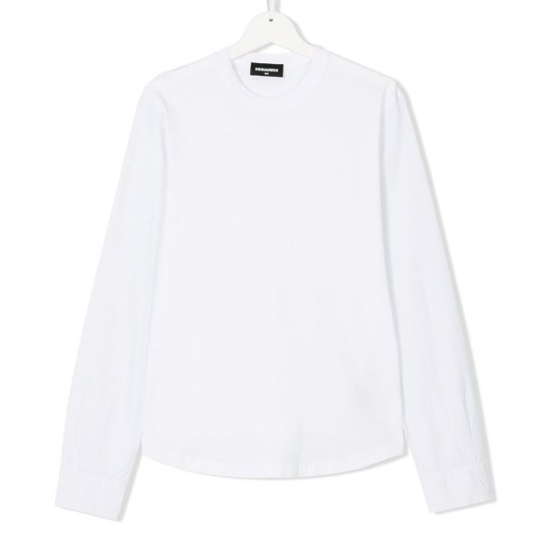 Dsquared2 - T-SHIRT BASICA BIANCA BOY