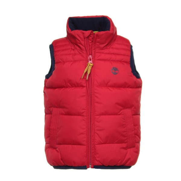 Timberland - GILET ROSSO BABY