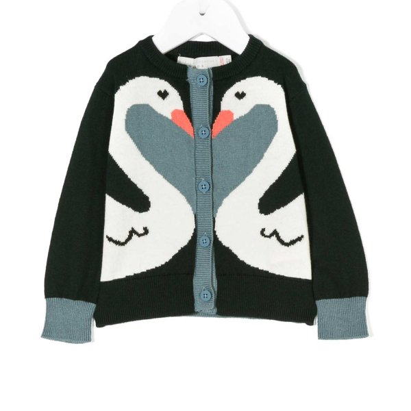 Stella Mccartney - CARDIGAN BABY CIGNI