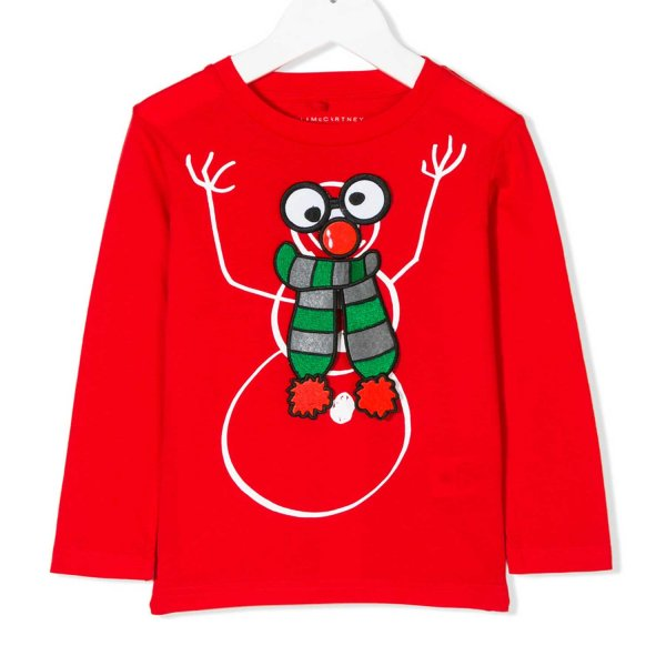 Stella Mccartney - T-SHIRT JR ROSSA