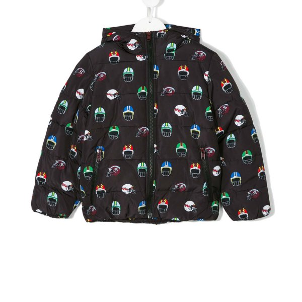 Stella Mccartney - BOMBER HUBERT NERO
