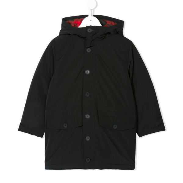Stella Mccartney - PARKA CAMPBELL NERO BOY