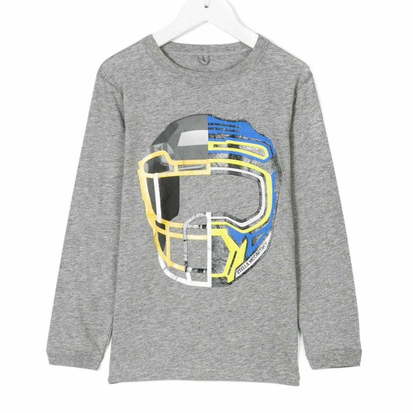 Stella Mccartney - T-SHIRT GENE GRIGIA BOY