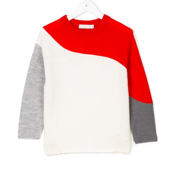 Stella Mccartney - PULLOVER MULTICOLOR GIRL