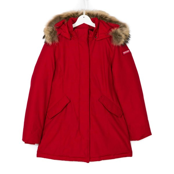Woolrich - Parka Rosso Girl