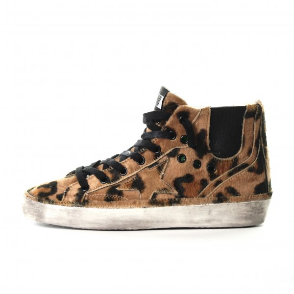 Golden Goose - SNEAKERS BLAZE LEOPARD IN FINTA PELLICCIA TEEN