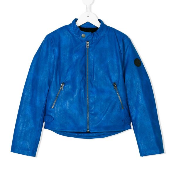 John Richmond - GIACCA BIKER BOY BLU