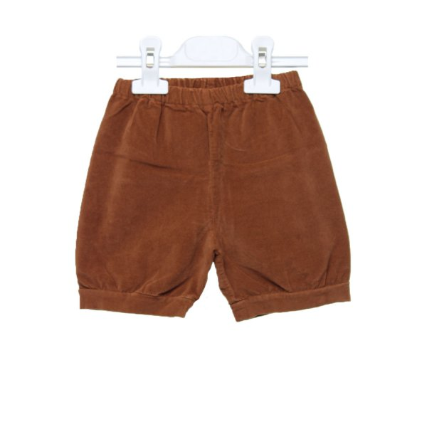 Olive - SHORTS BIMBA MARRONCINI