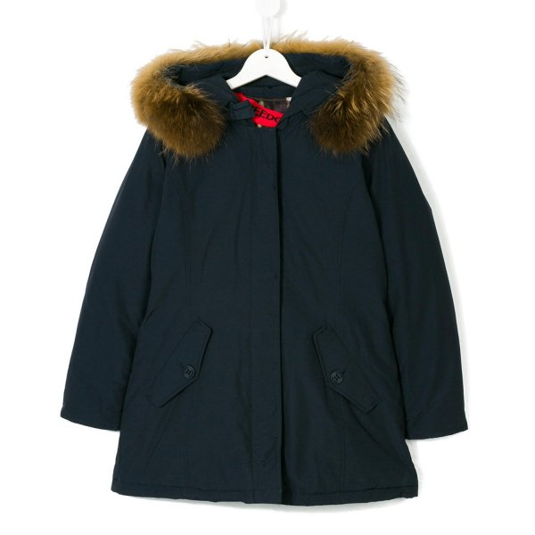 Freedomday - Parka Blu Navy Girl