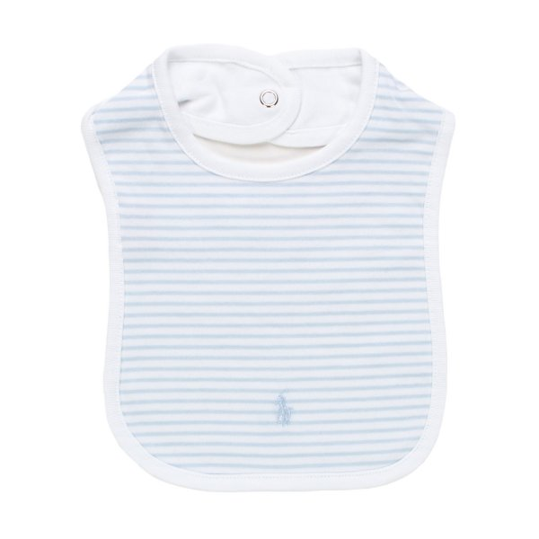 Ralph Lauren - BAVAGLINO RL INFANT A RIGHE BIMBO