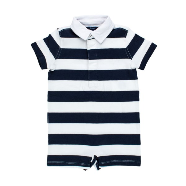 Ralph Lauren - TUTINA POLO A STRISCE RL INFANT