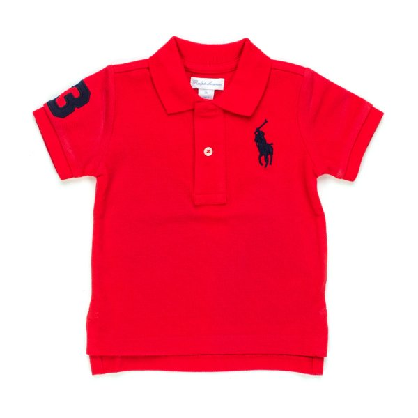 Ralph Lauren - POLO BIG PONY INFANT ROSSA