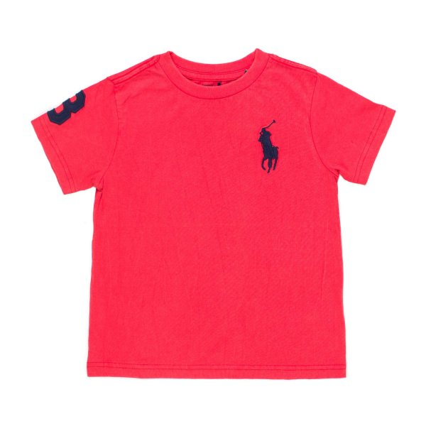 Ralph Lauren - T-SHIRT BIG PONY ROSSA RL BOY