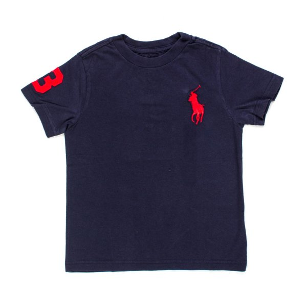 Ralph Lauren - T-SHIRT BIG PONY BOY BLU