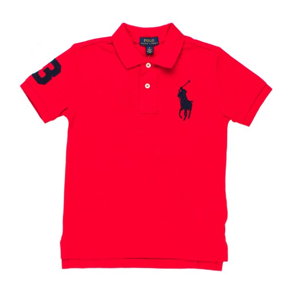 Ralph Lauren - POLO BIG PONY ROSSA RL BOY