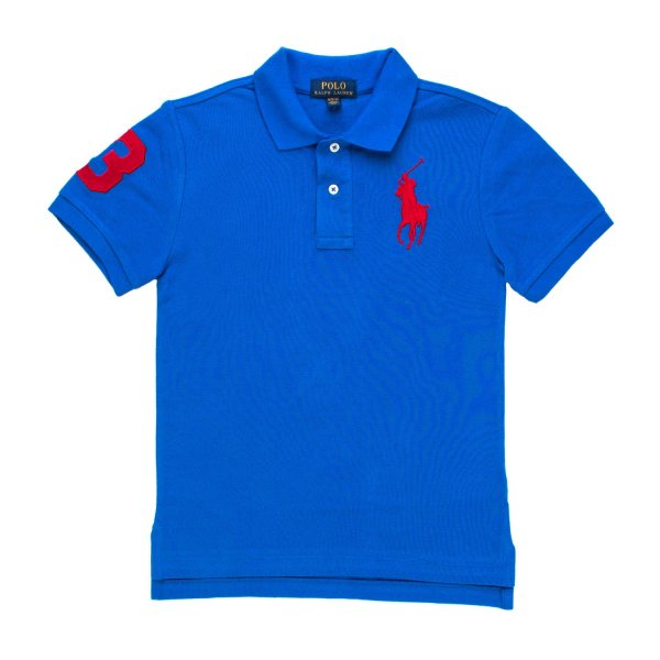 Ralph Lauren - POLO BIG PONY AZZURRA RL BOY