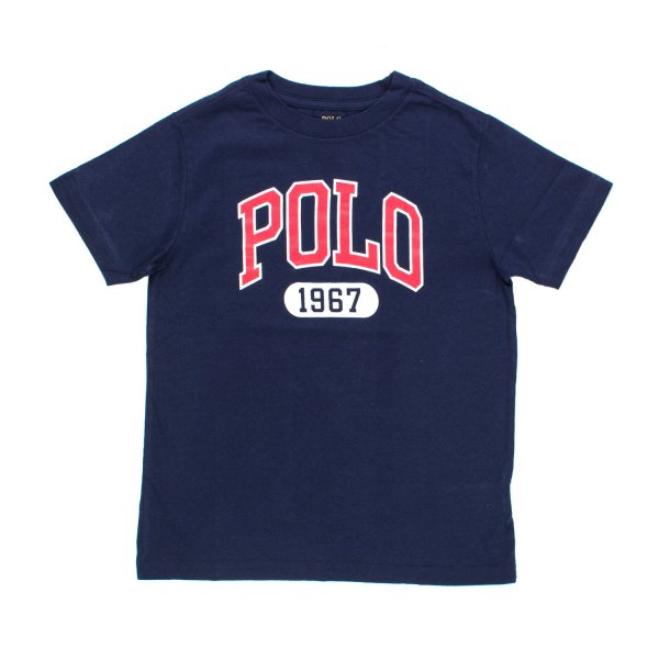 Ralph Lauren - T-SHIRT POLO BLU RL BOY