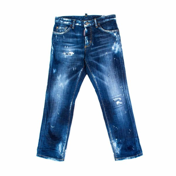 Dsquared2 - JEANS CARROT GIRL BLU