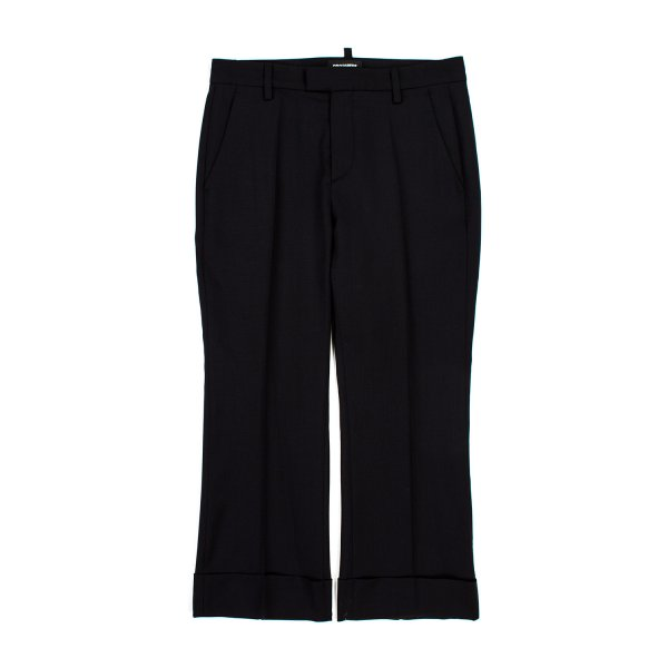 Dsquared2 - PANTALONE GIRL NERO LANA VERGINE