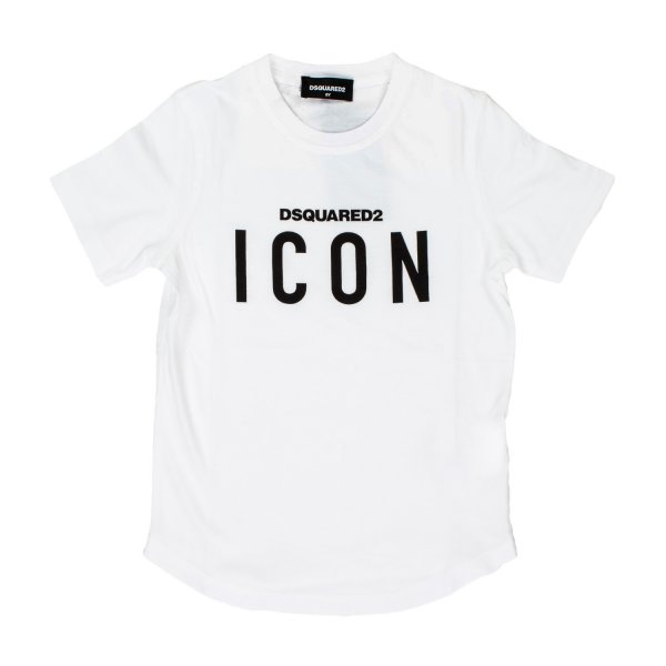 Dsquared2 - T-SHIRT BIANCA JR E TEEN