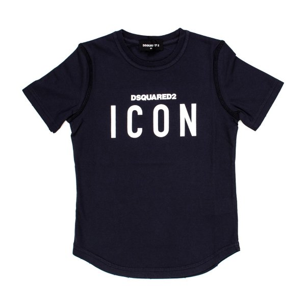 Dsquared2 - T-SHIRT BLU JR E TEEN