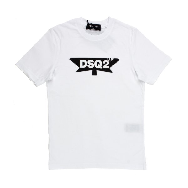 Dsquared2 - T-SHIRT DSQ2 BIANCA JR E TEEN
