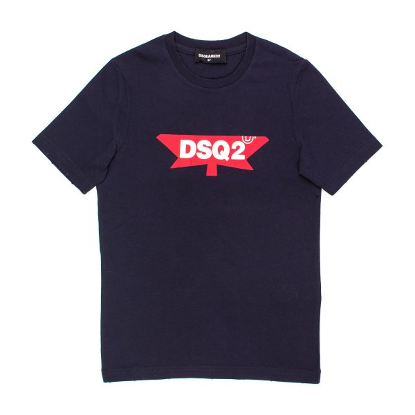 Dsquared2 - T-SHIRT DSQ2 BLU JR TEEN