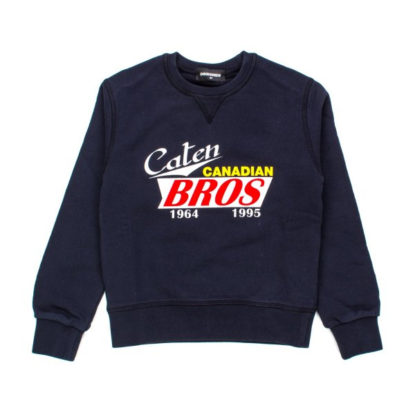 Dsquared2 - FELPA BOY CANADIAN BLU