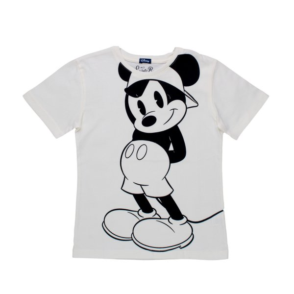 Mc2 Saint Barth - T-SHIRT MICKEY MOUSE BIANCA BAMBINO