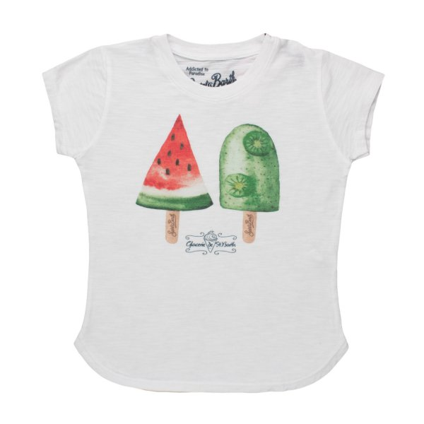 Mc2 Saint Barth - T-SHIRT EMMA GELATI BAMBINA