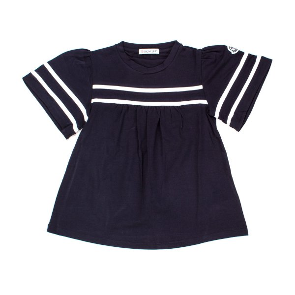 Moncler - TOP SAILOR BLU NAVY BAMBINA TEEN
