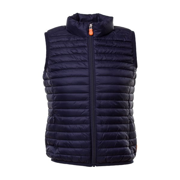 Save The Duck - GILET BLU NAVY BAMBINO TEEN