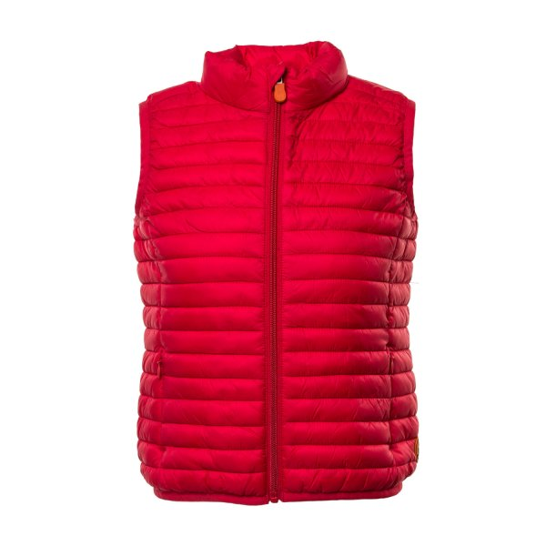 Save The Duck - GILET ROSSO BAMBINO 01